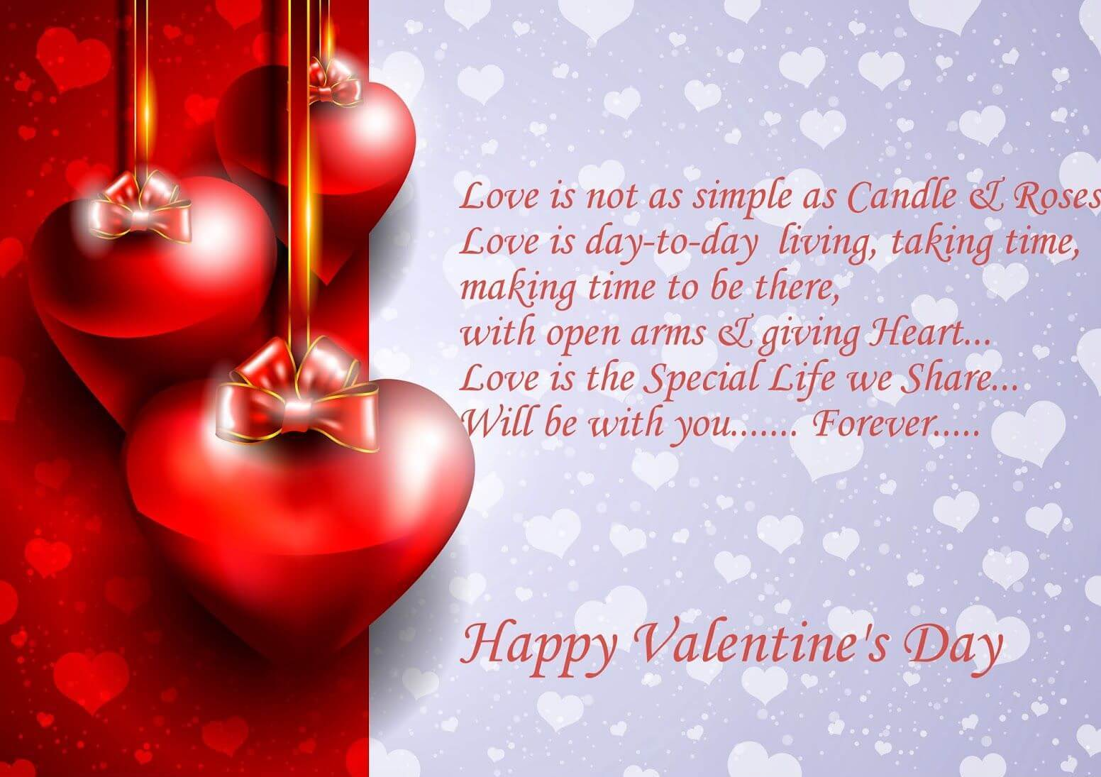 Happy Valentines day Love Quote Image Wallpaper Wishes For GF BF