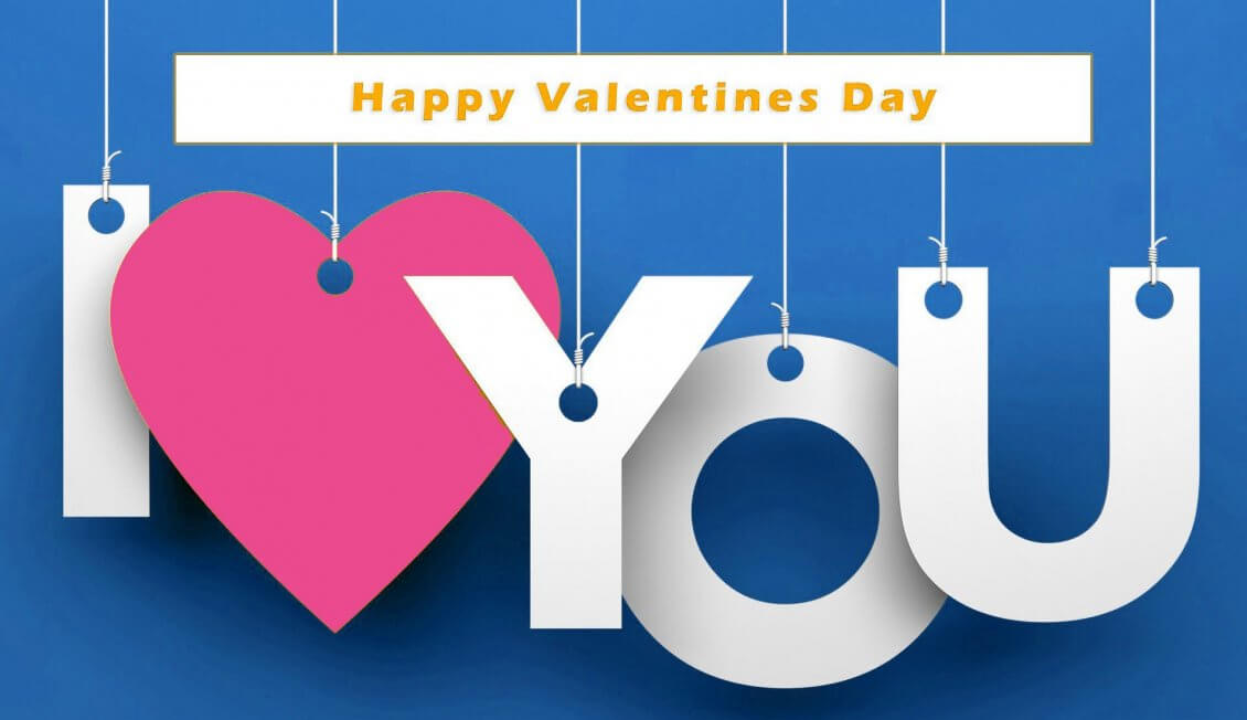 Happy Valentines Day I Love You HD Wallpaper Image