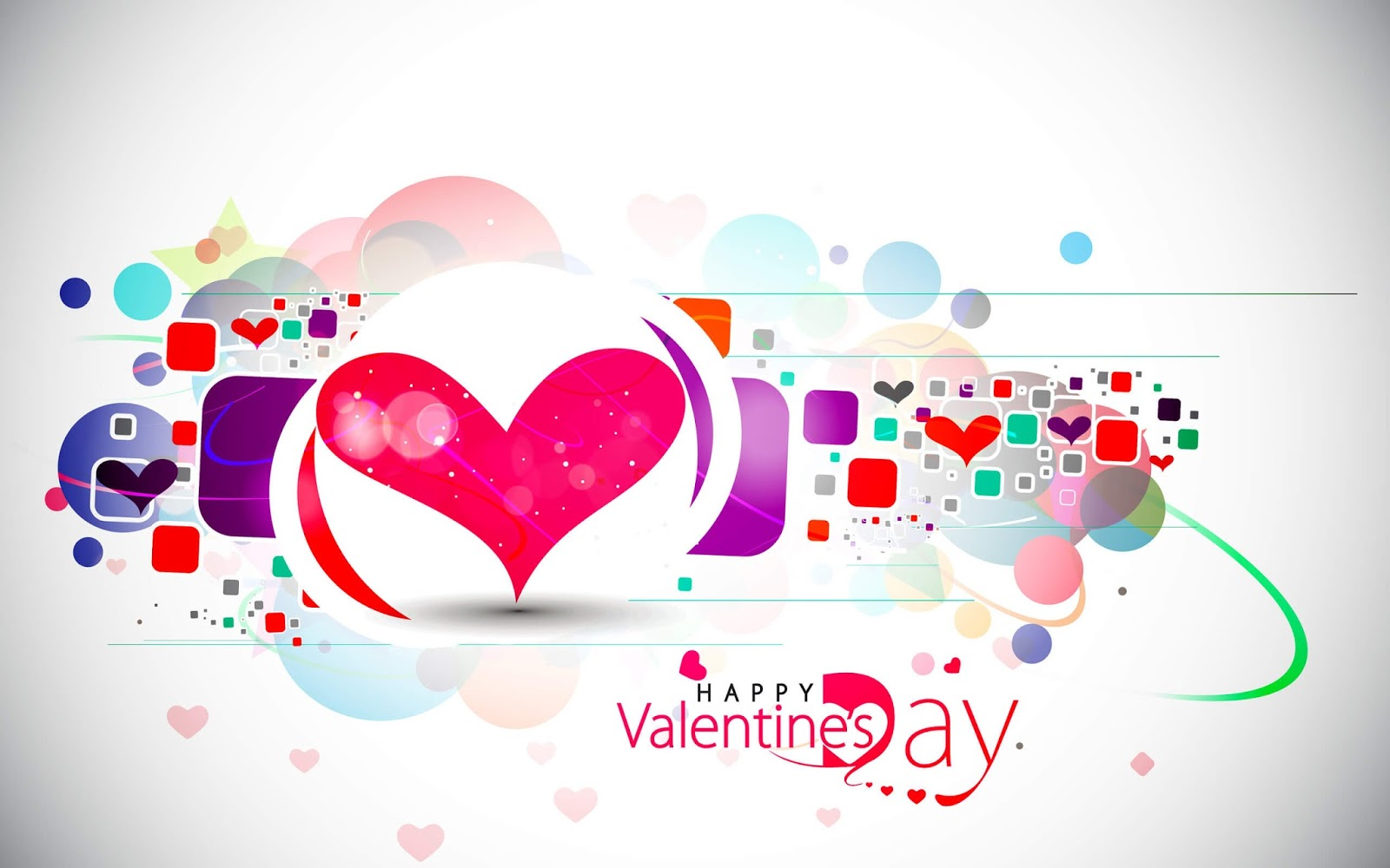 Happy Valentines day Stylish Attractive Wallpaper Image