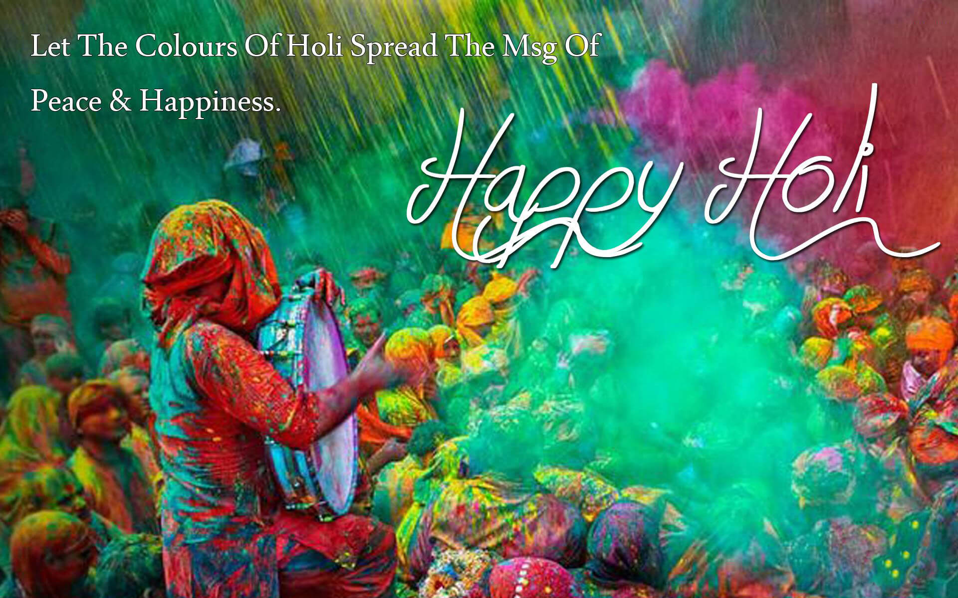 Happy Holi 2019 : Images Wallpapers HD, Wishes, SMS, Messages, Quotes
