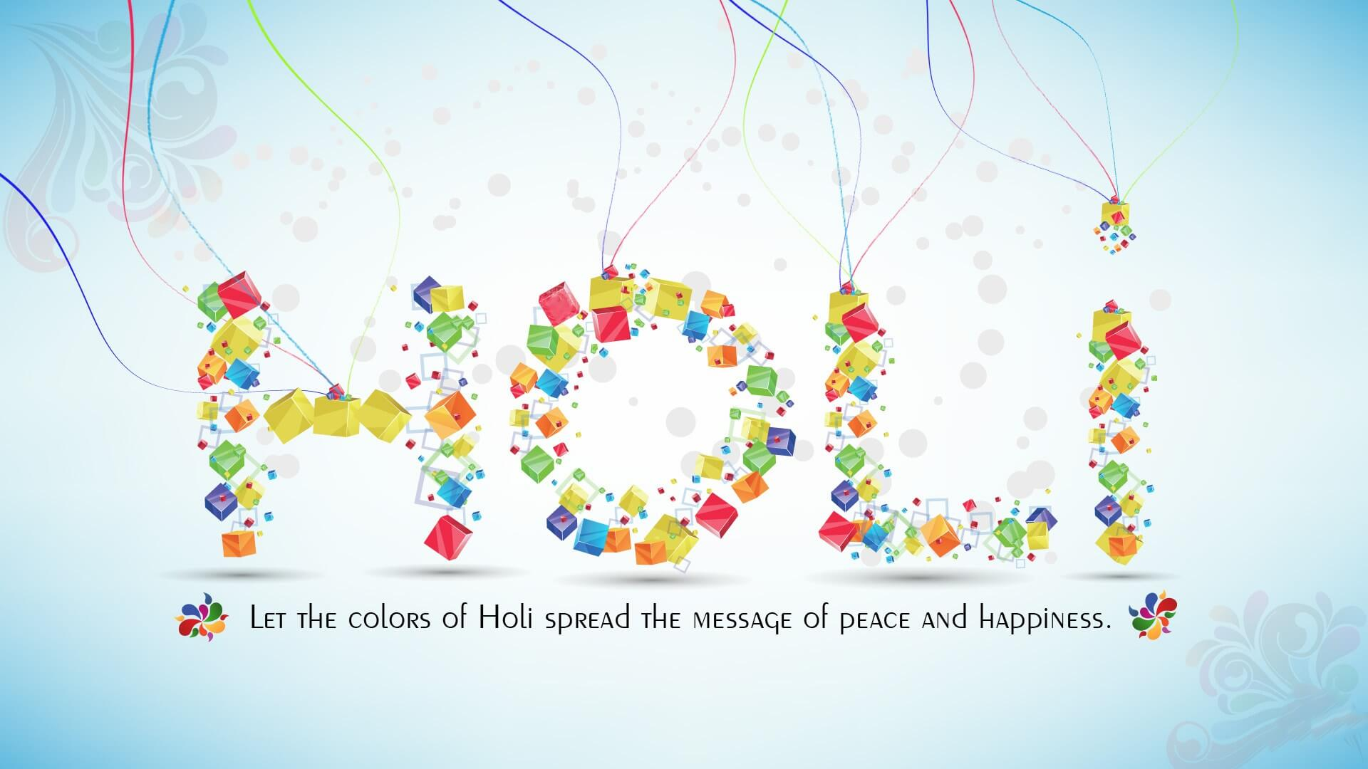 happy holi greeting cards for friends, family