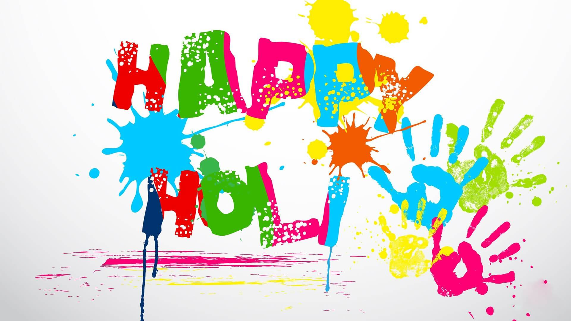 happy holi greeting cards, images, wallpapers