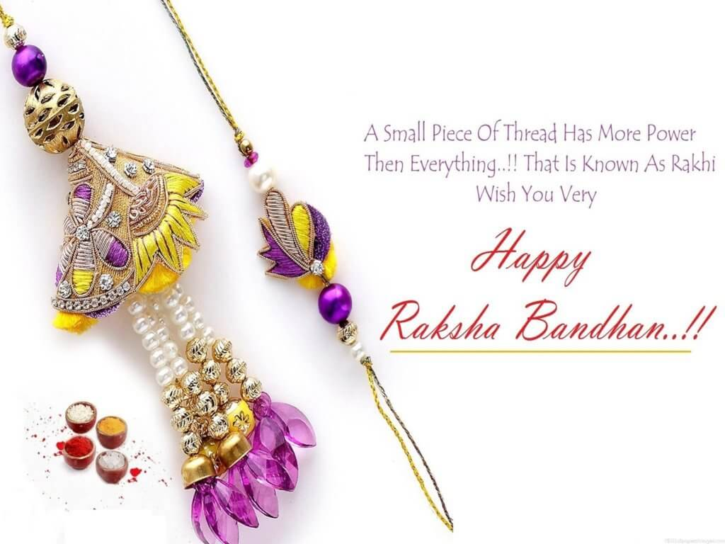 Happy Raksha Bandhan Quotes in english wishes images