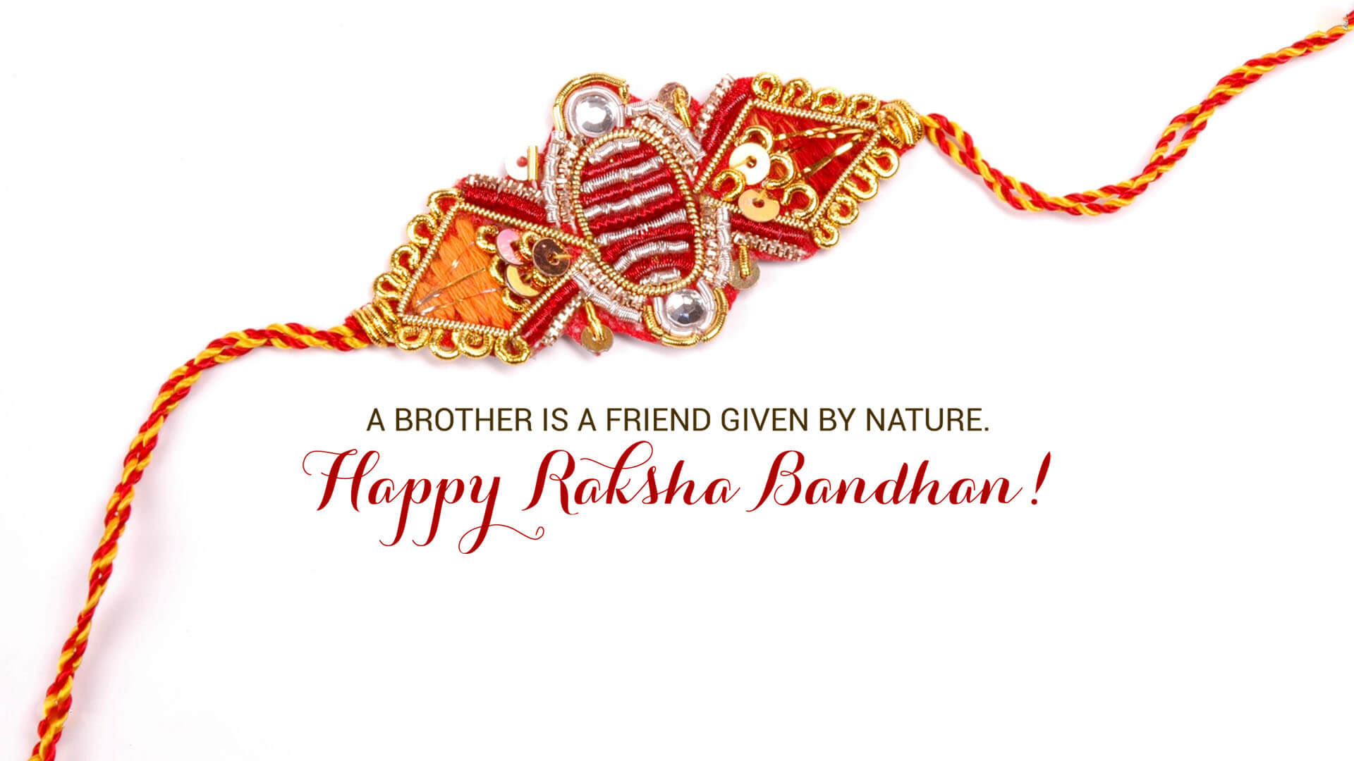 Happy Raksha Bandhan wishes images for brother