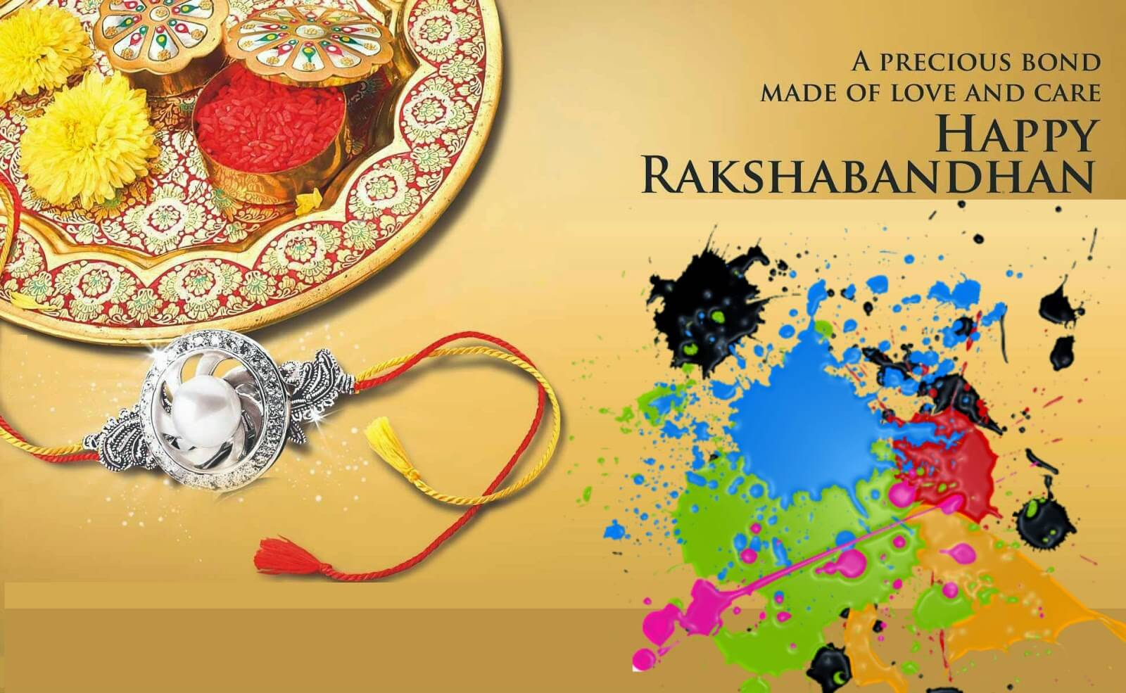 happy Raksha Bandhan wishes images wallpapers in english