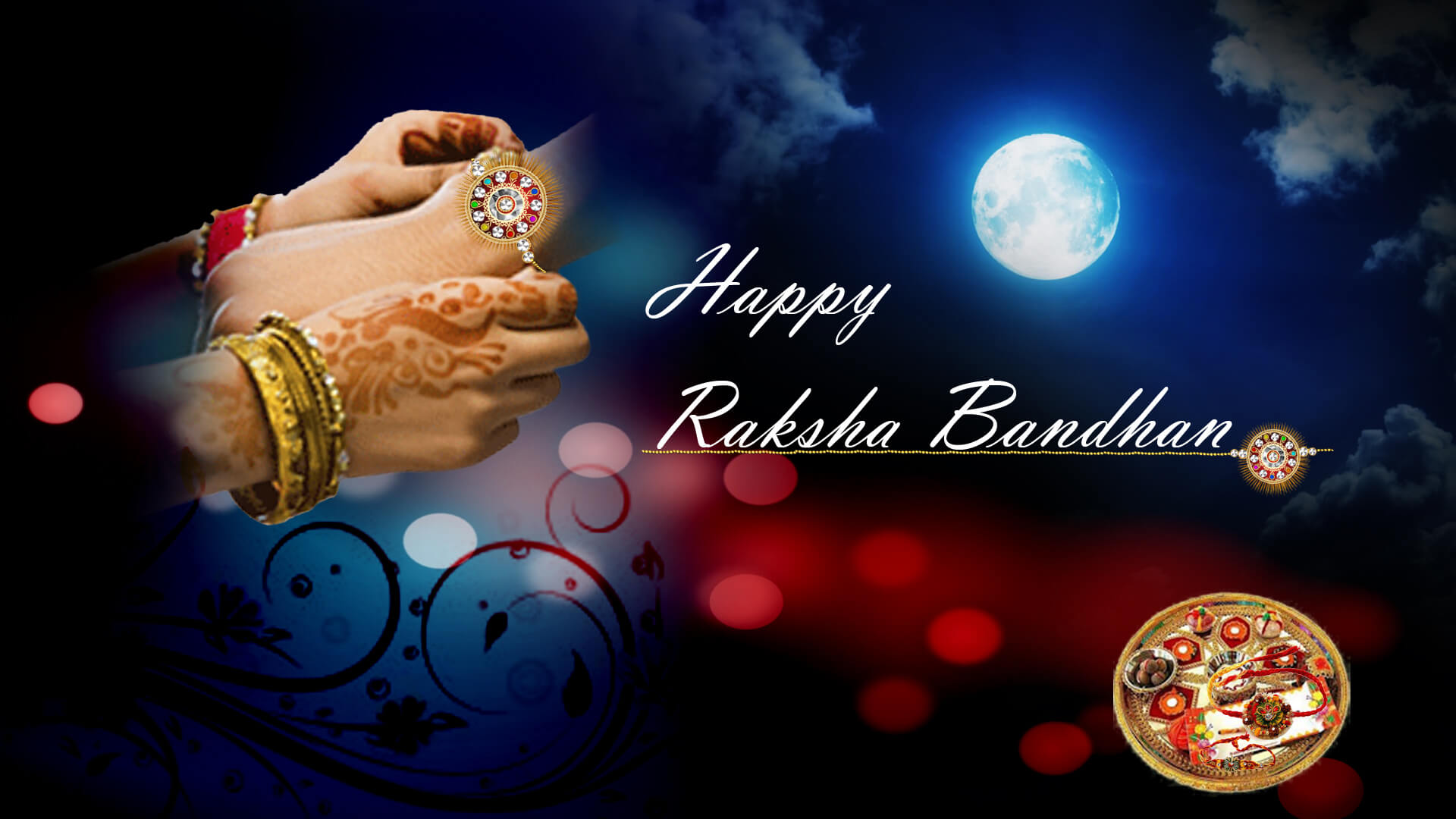 happy Raksha Bandhan images wallpapers brother sister