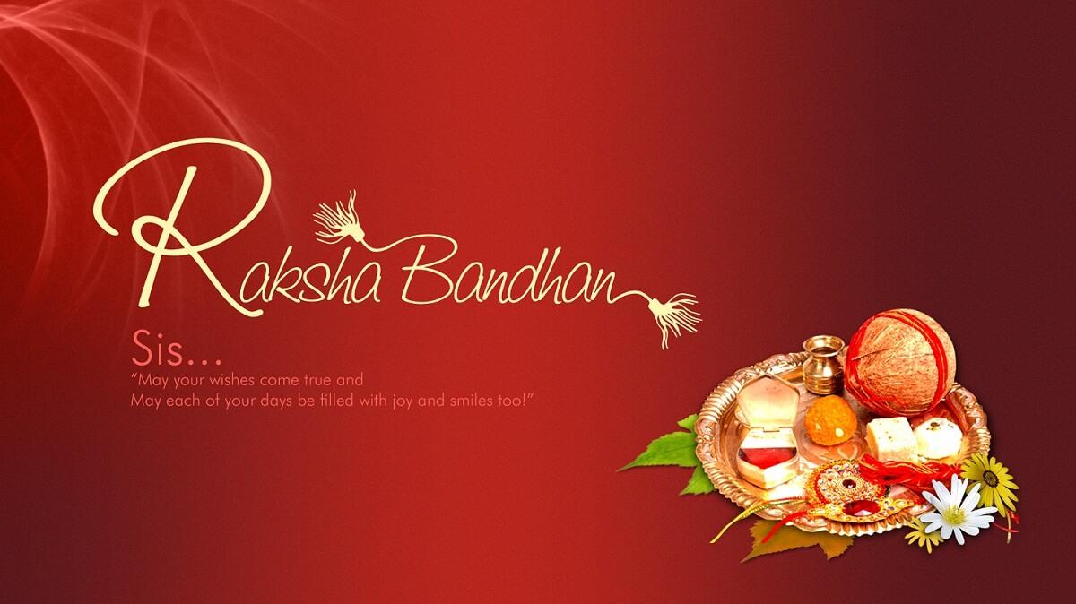 happy Raksha Bandhan images wallpapers for sister