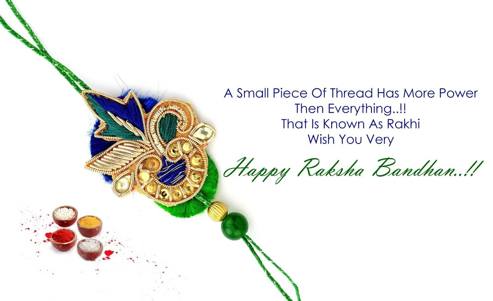 Happy Raksha Bandhan images quotes in english