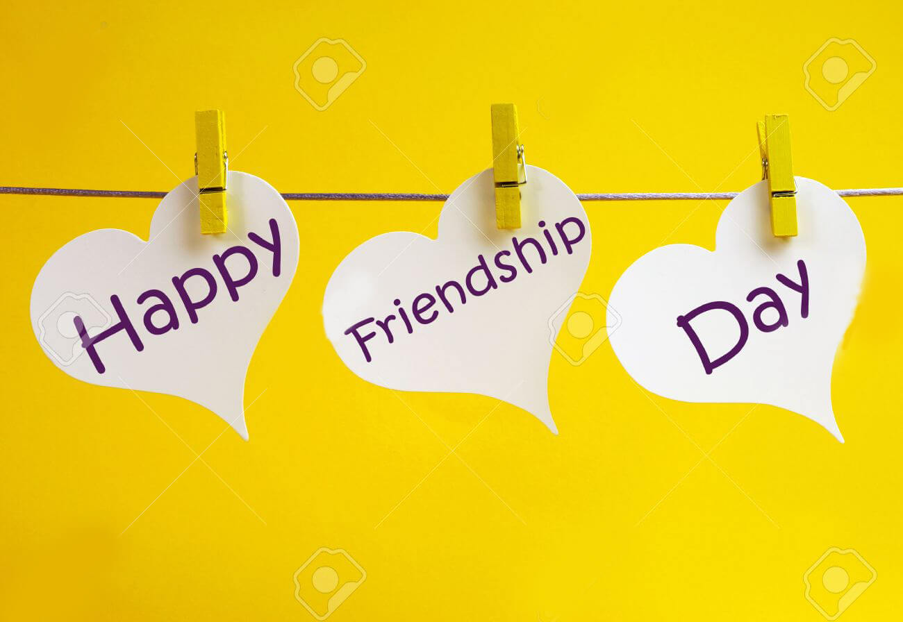 happy friendship day greeting card HD