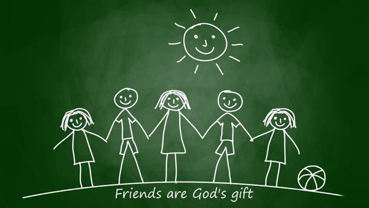 happy friendship day to all friends wallpaper images greeting cards