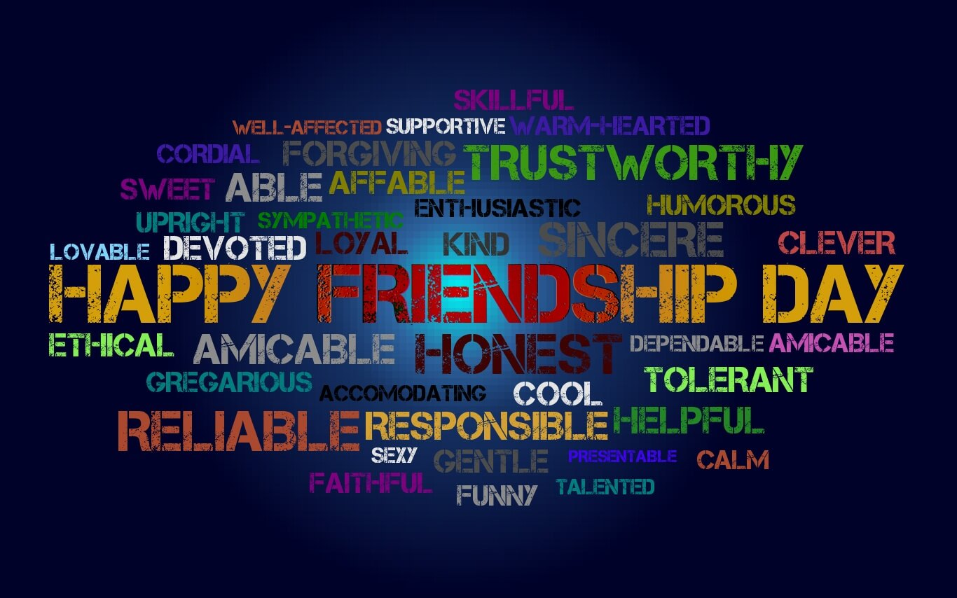 happy friendship day unique wallpapers images HD