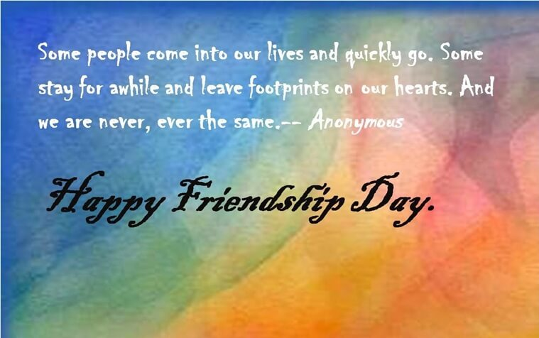 happy friendship day wishes wallpaper images with quotes in english