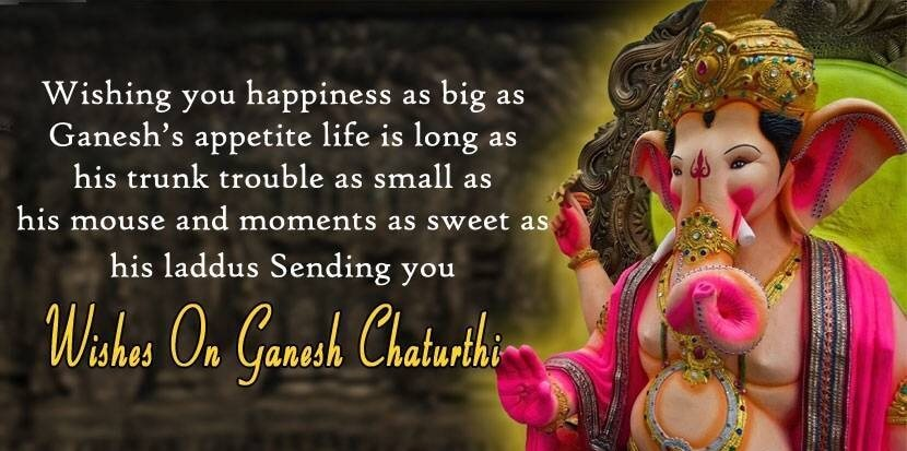 happy ganesh chaturthi wishes wallpapers images quotes in english