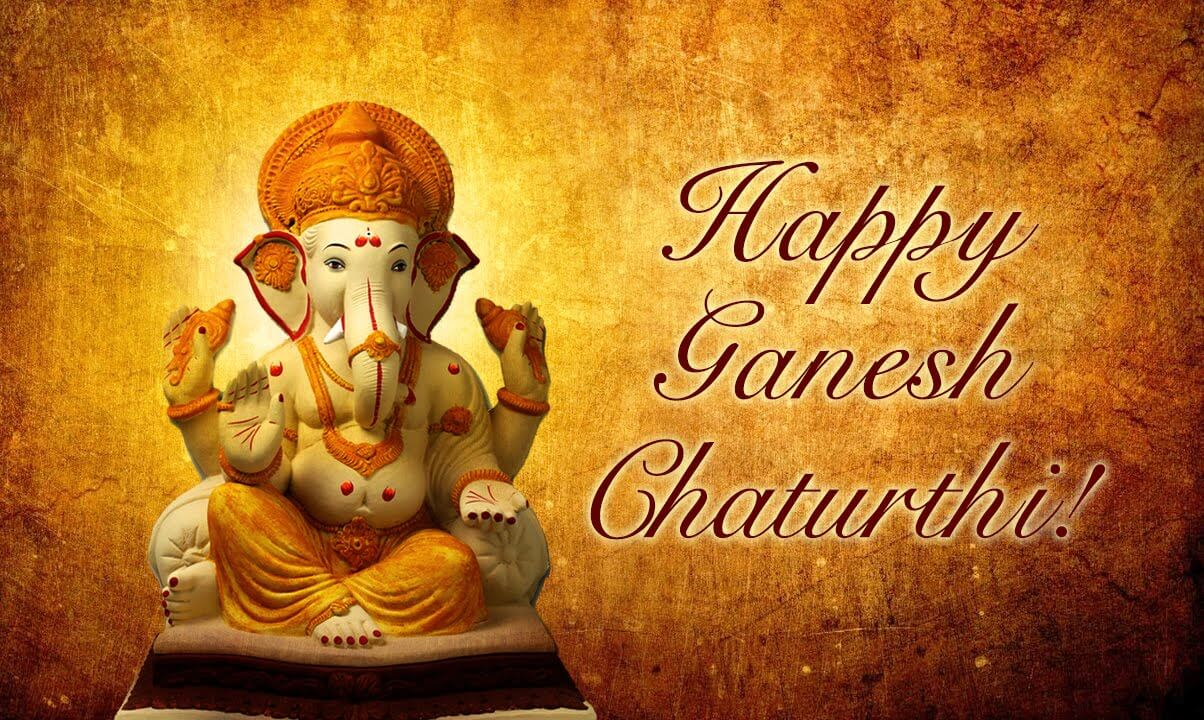 happy ganesh chaturthi wallpapers images HD