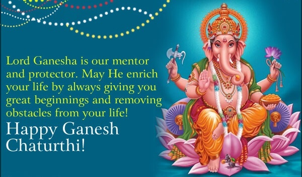 happy ganesh chaturthi wallpapers images with greetings english