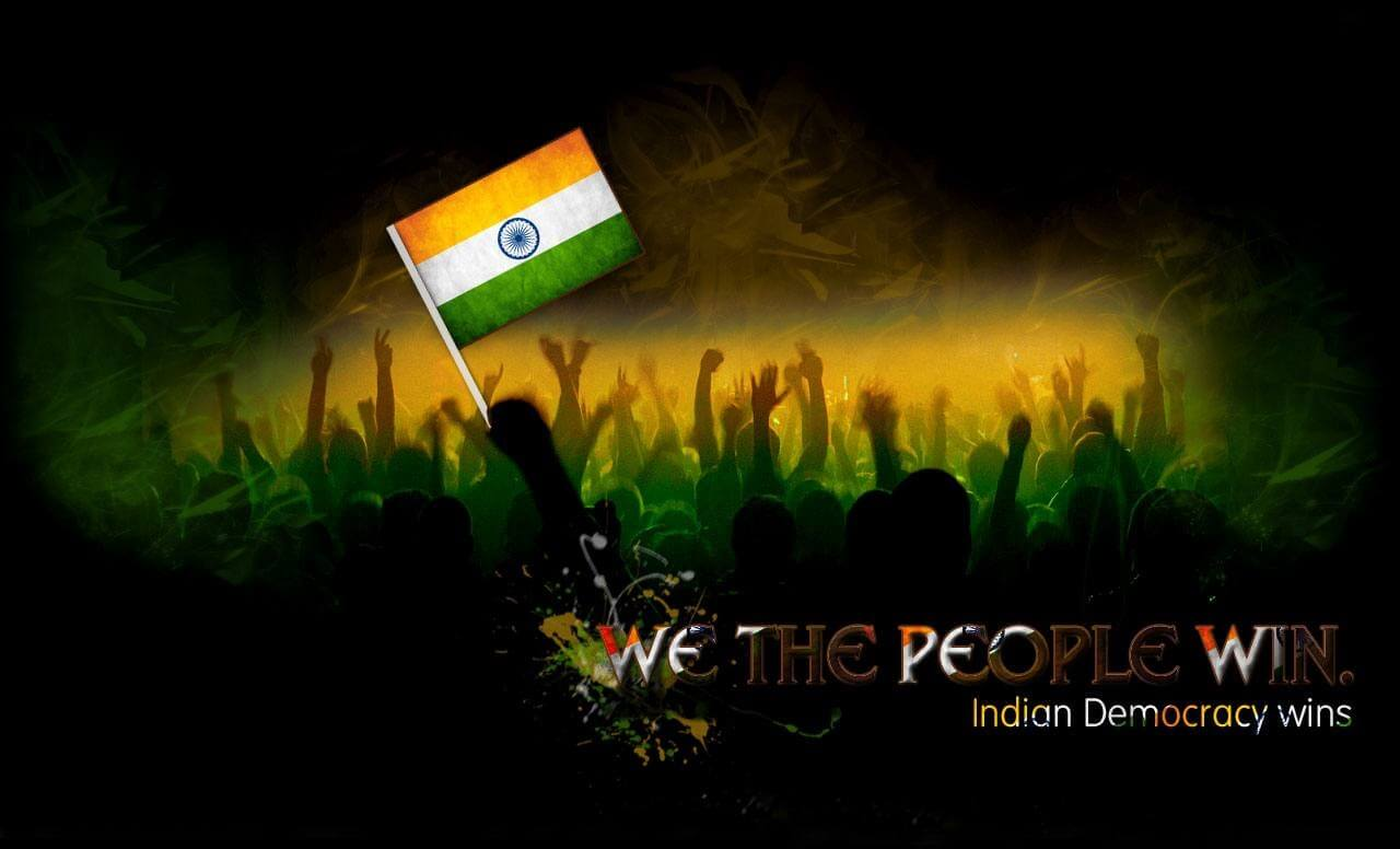 happy independence day india democracy wallpaper image