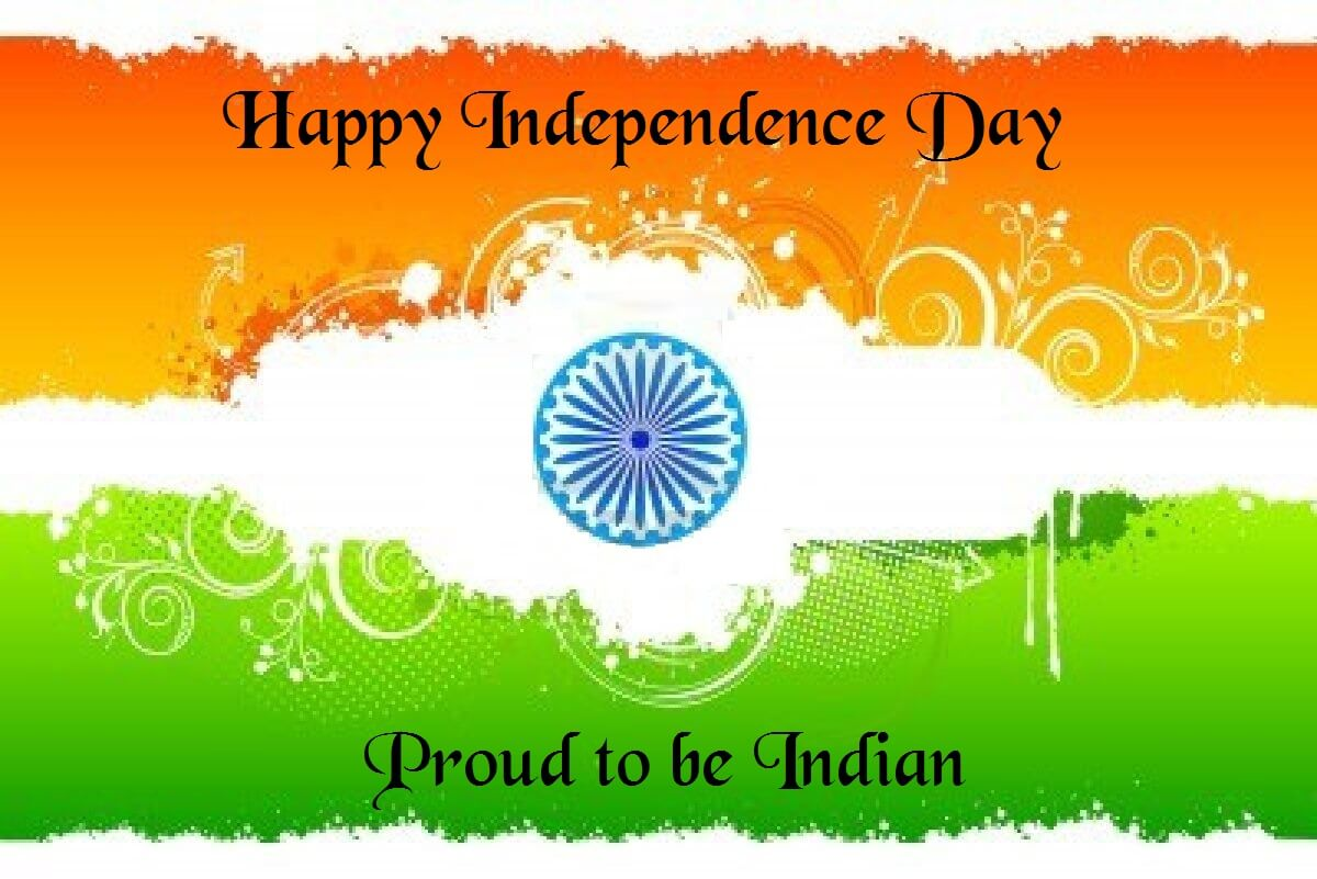 happy independence day HD photo tricolor wallpaper