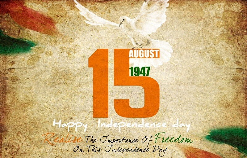 happy independence day 15 august 1947 wallpaper image