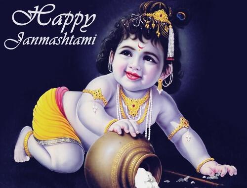 happy janmashtami natkhat krishna wallpaper images photos