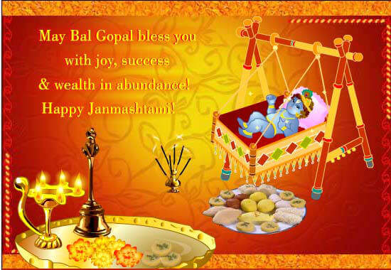 happy janmashtami sayings in english
