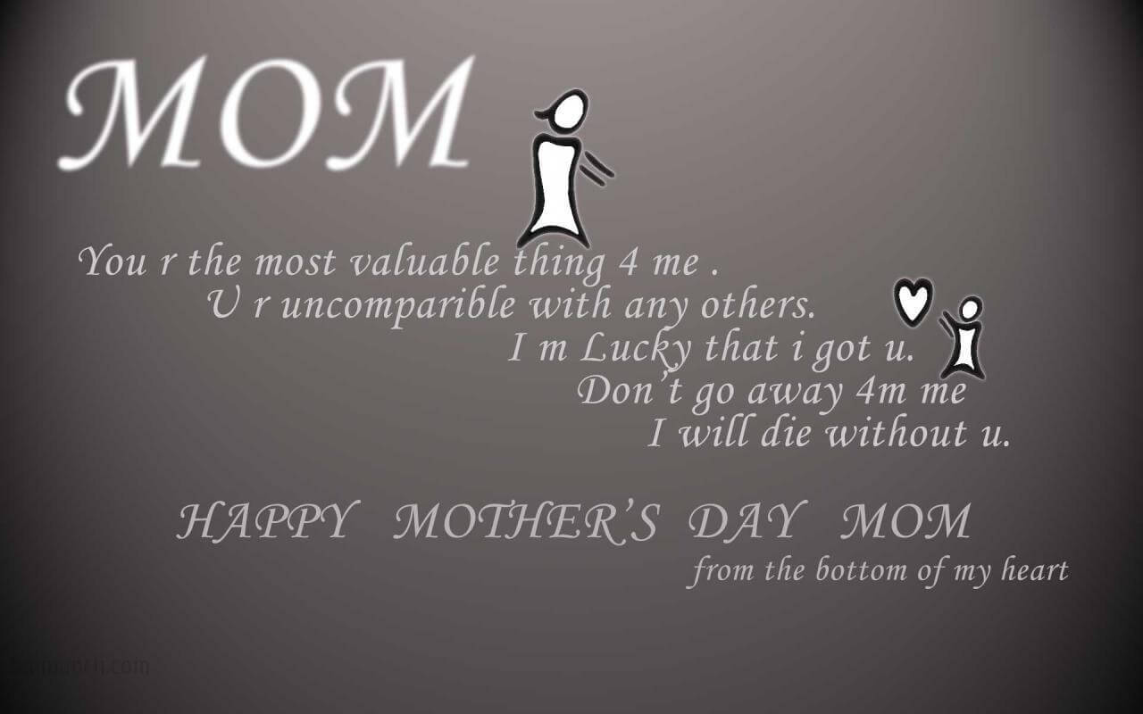 happy mothers day poetry in english