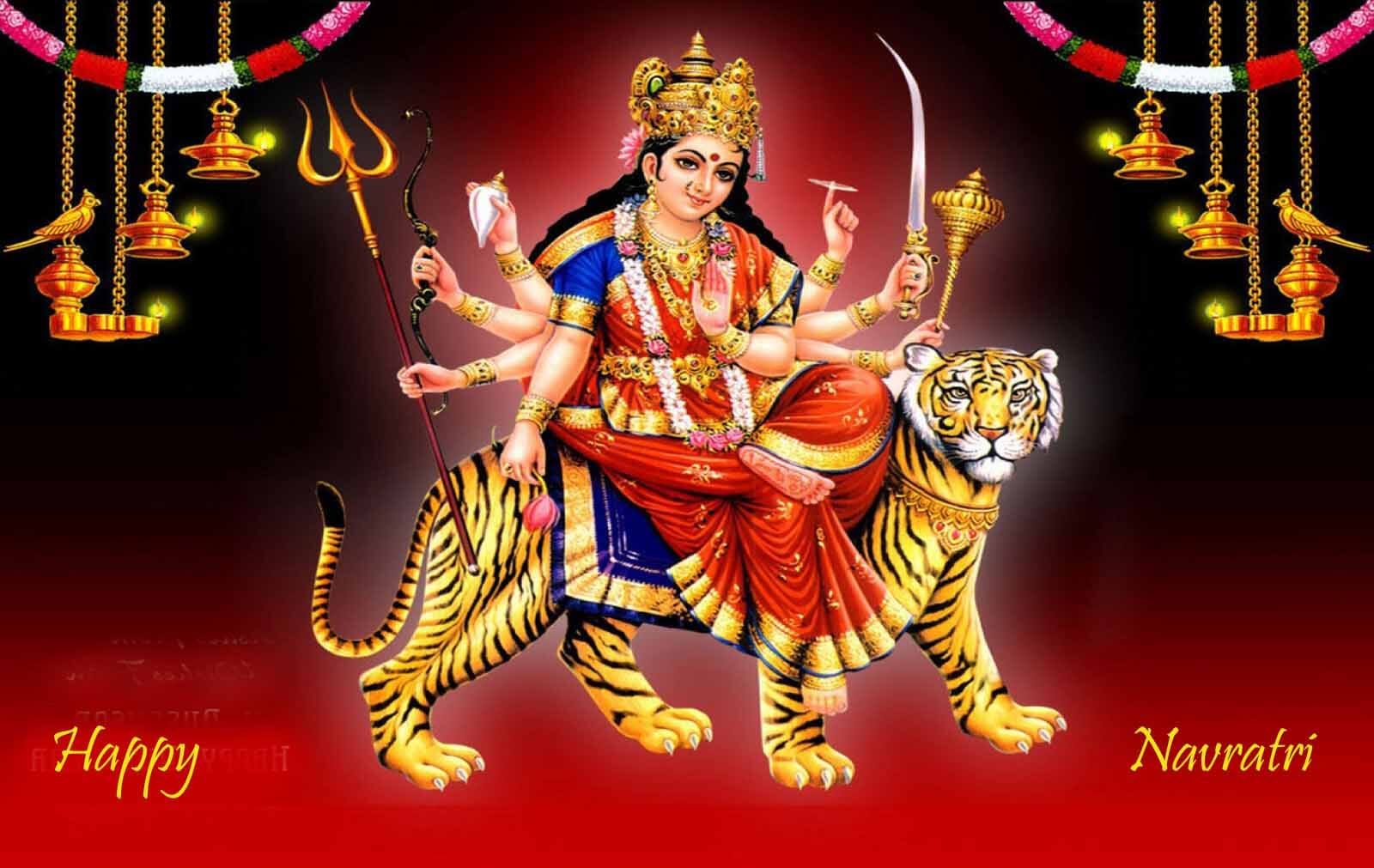 happy navratri images HD wallpapers download