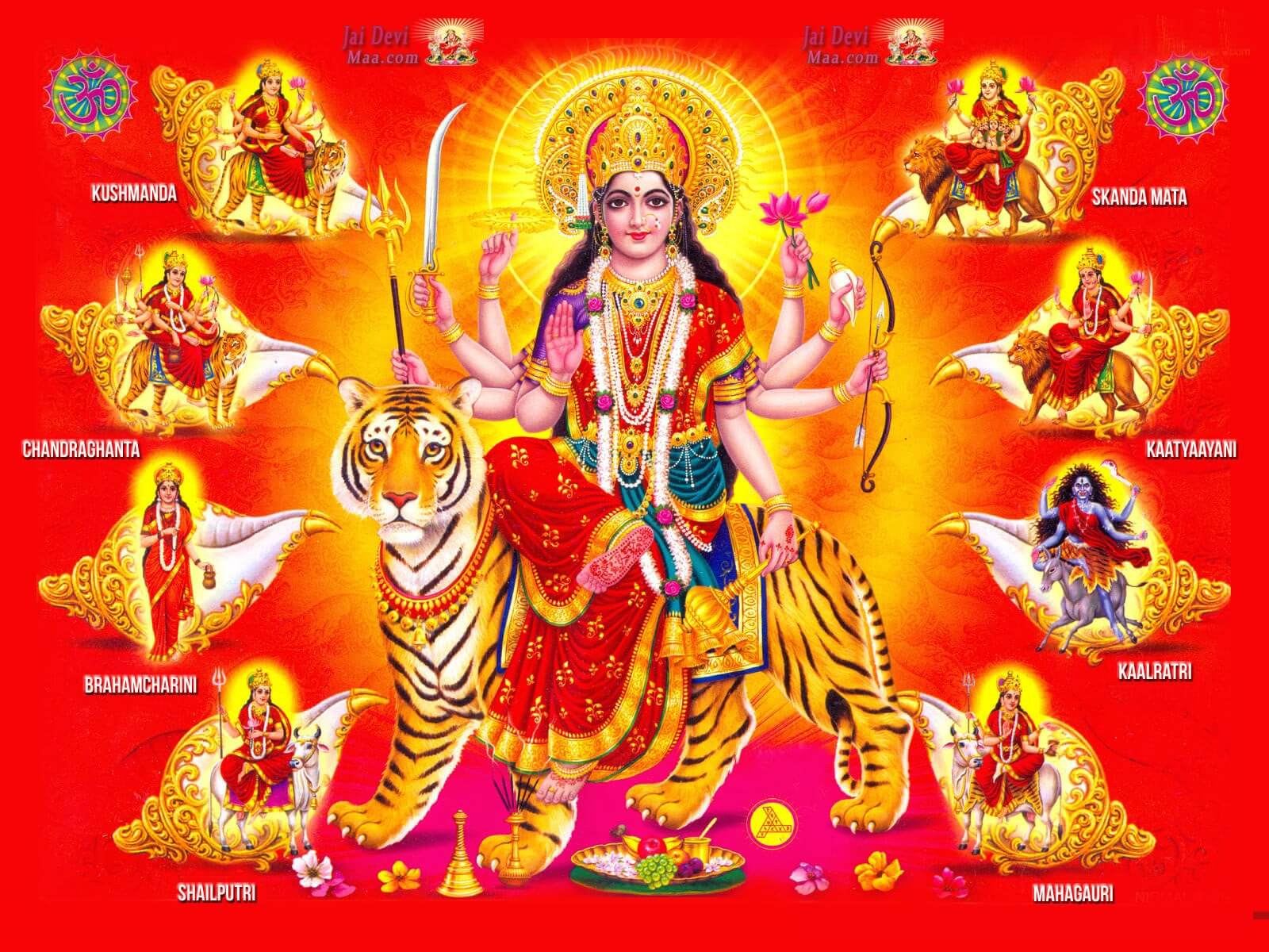 happy navratri unique all mata photo wallpaper image HD