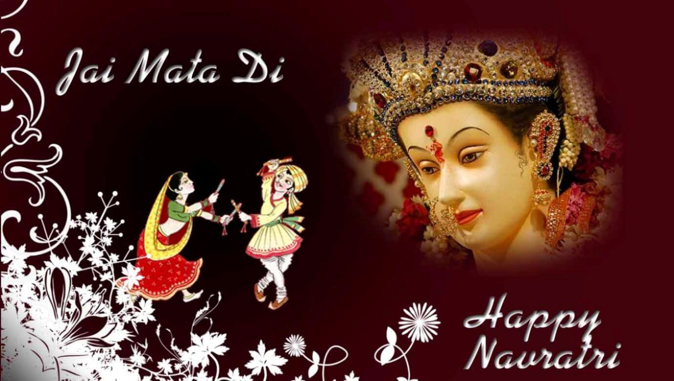 happy navratri jai mata di wallpaper image picture photo HD