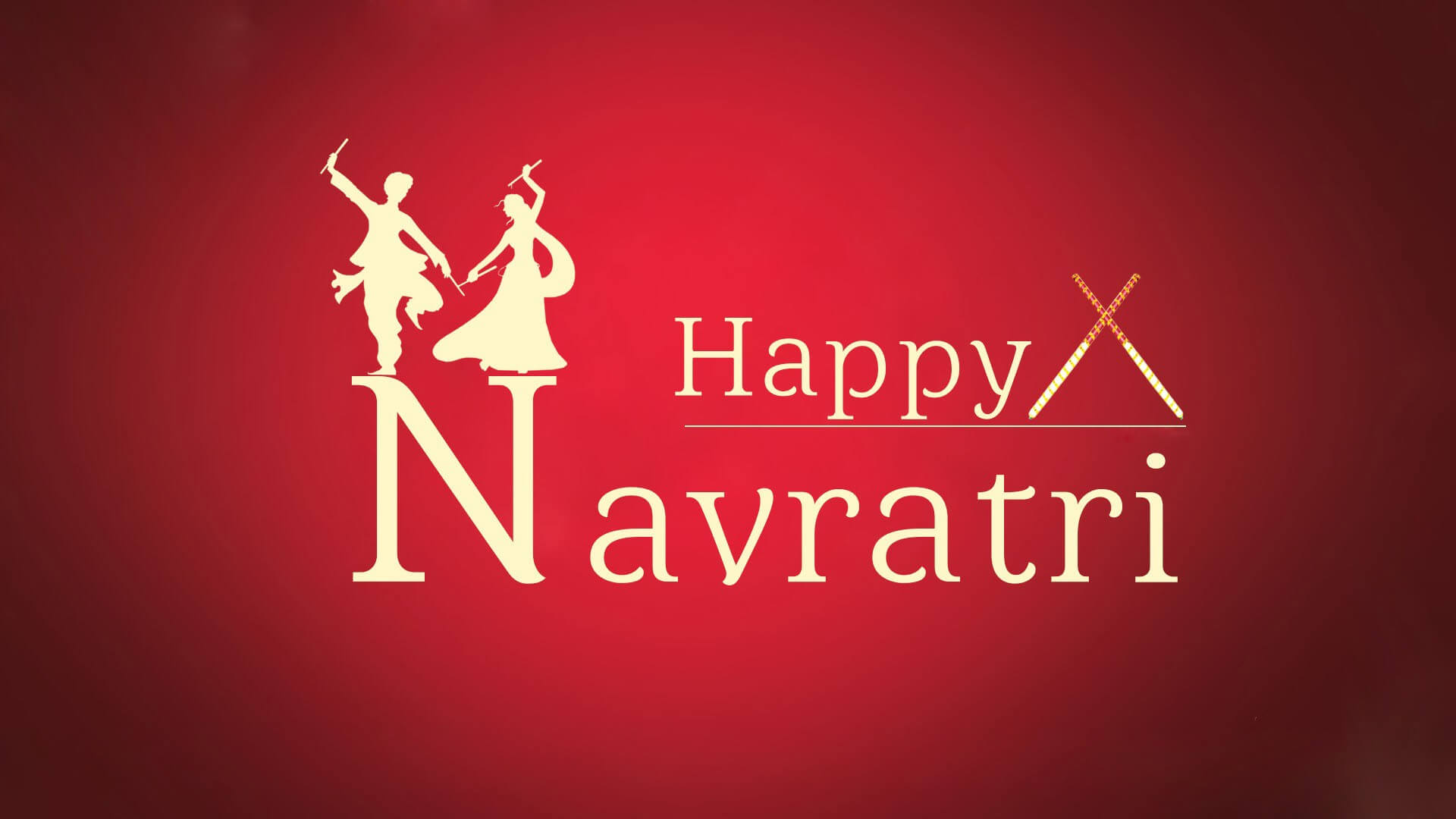 happy navratri 2018 wallpaper