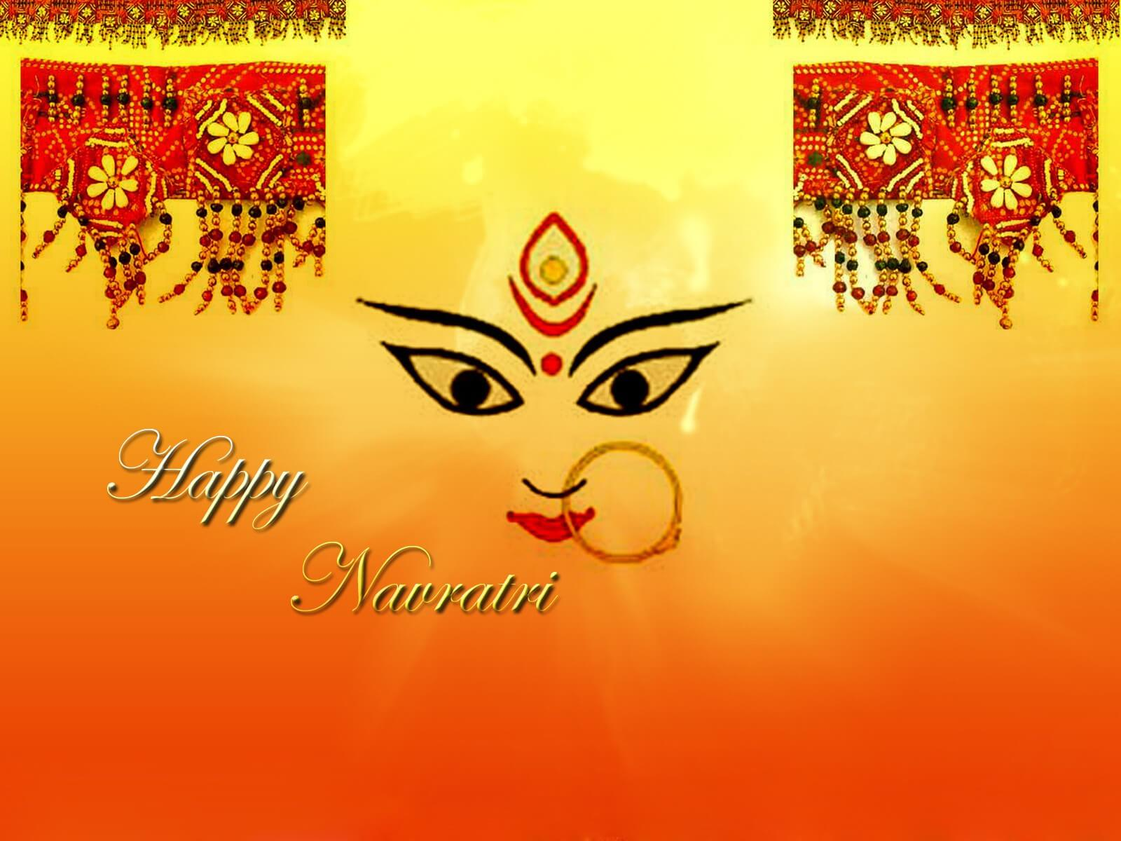 Happy navratri wishes images quotes sms hd wallpapers 2018 happy navratri wishes wallpaper greeting images m4hsunfo