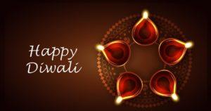 Happy diwali 2018 card