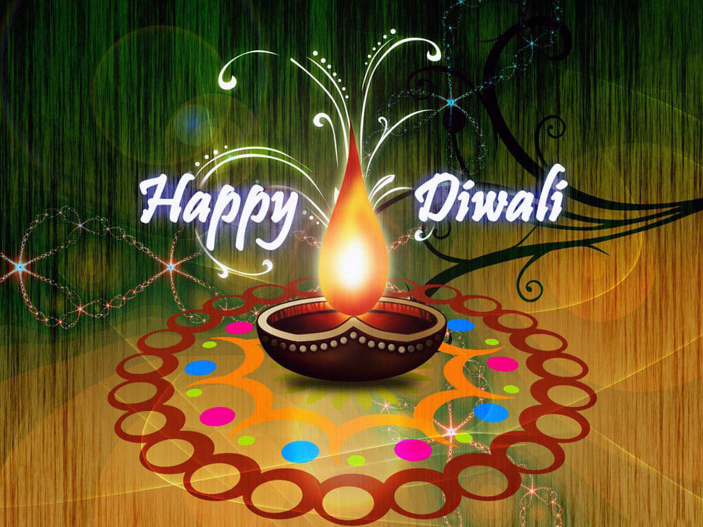 Happy diwali 2018 colorful deepka image hd