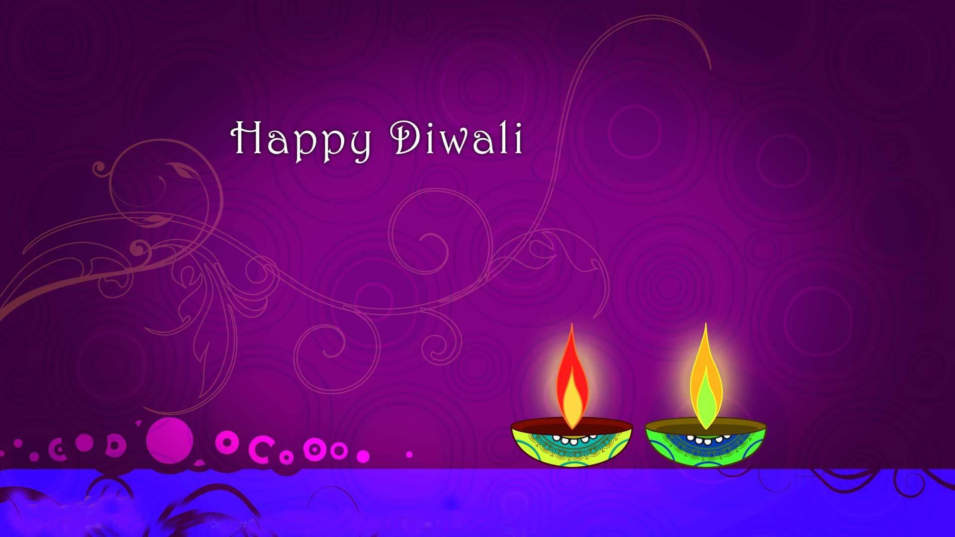 Happy diwali 2018 greeting card HD image