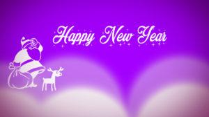Happy New Year 2018 santa clause image