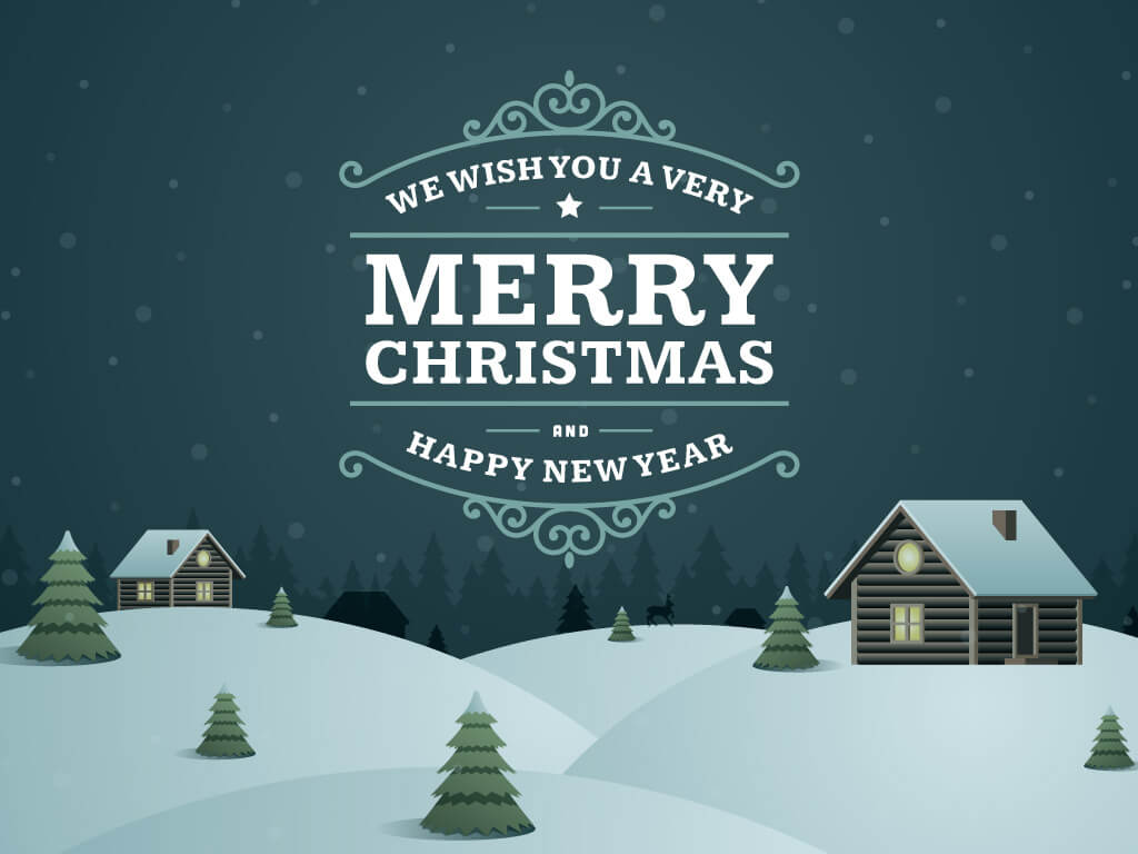 Happy New Year and merry christmas hd image, wallpaper