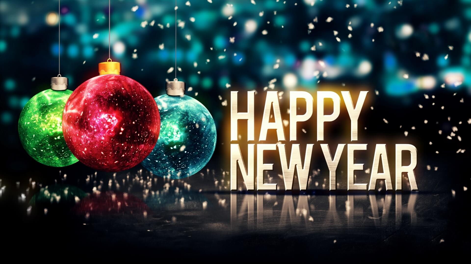 Happy New Year full hd wallpaper, photo, image, picture
