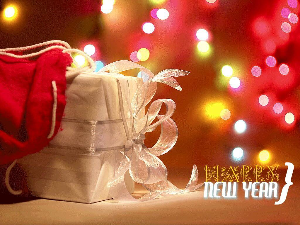 Happy New Year present and gifts wallpapers