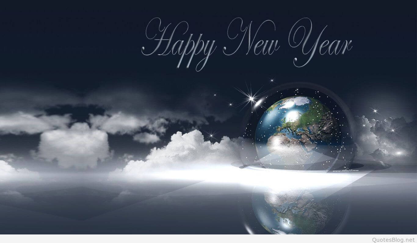Happy New Year sky wallpaper wish hd