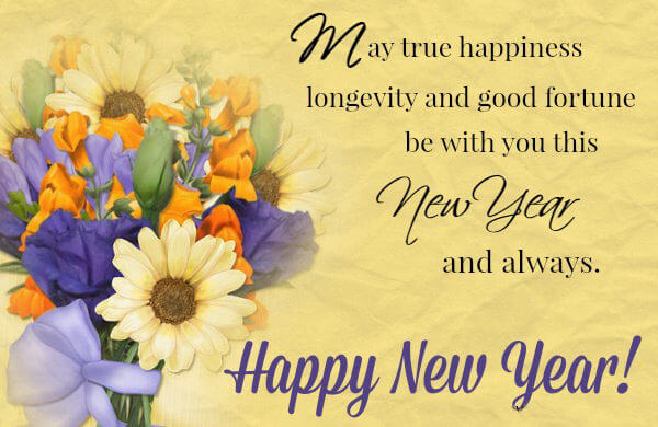 Happy New Year wishes and messages greeting quotes