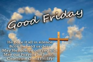 Good Friday 2018 Messages