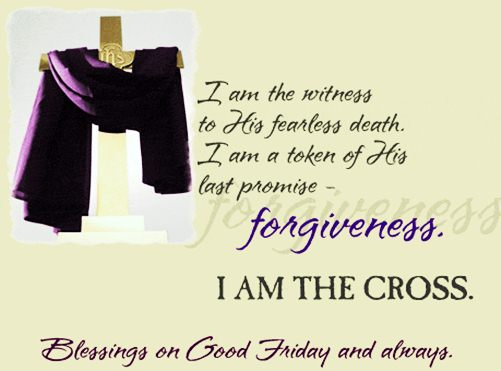 Good Friday Images Wish greeting card