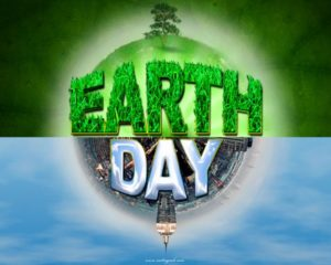 Happy Earth Day HD Wallpaper greenery