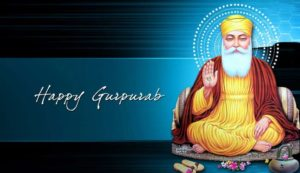 Happy Gurpurab Guru Nanak Greeting card