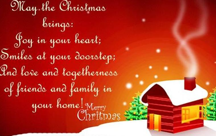 Merry christmas good wishes photo