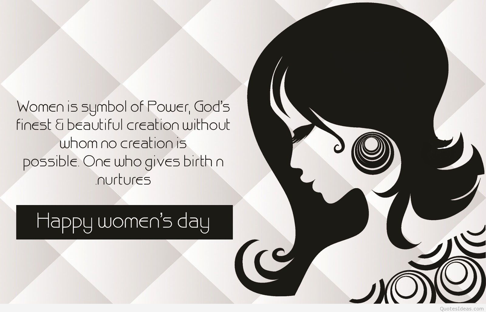 Womens Day 2018 Greeting Card