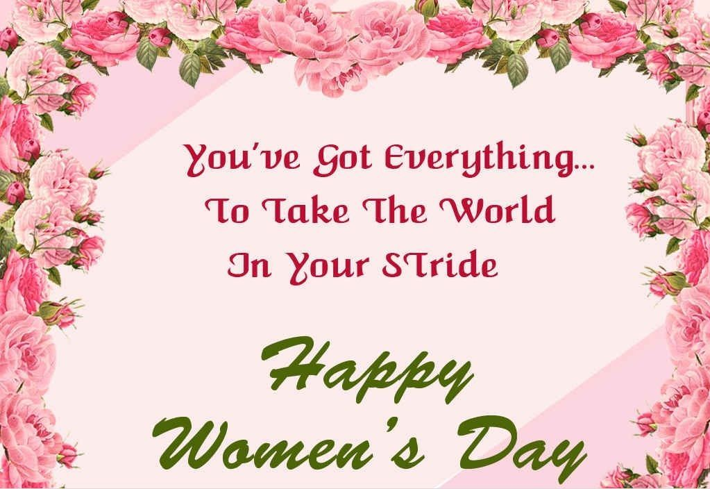 Womens Day 2018 SMS