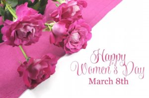Womens Day Card 8th March