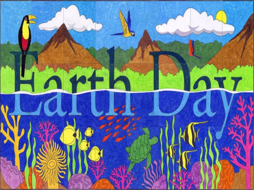 happy earth day greeting