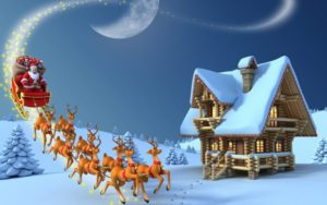 merry christmas animated picture HD