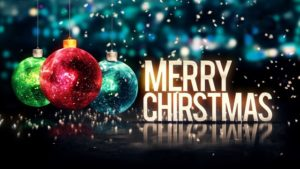 merry christmas balls lightening